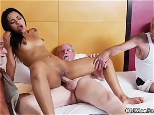 daddy teaches patron compeer s daughter-in-law how to wrestle Staycation with a latin bombshell