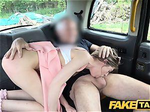fake taxi diminutive stalker Rhiannon Ryder