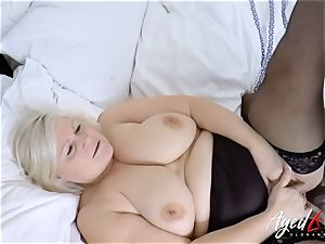 AgedLovE Lacey Starr interracial xxx bang-out