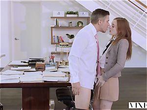 VIXEN Intern dominated By Her Father's biz colleague