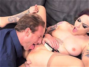 Rizzo Ford pounded in taut pussyhole