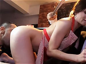 LOS CONSOLADORES - Russian Cassie Fire swinger fourway