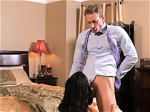 sexy Megan Rain gets her taut cunny pummelled