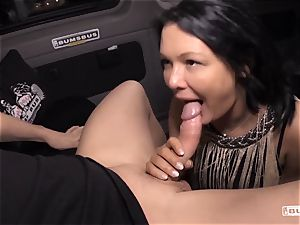 booties BUS - Bus screw and facial with huge-titted German milf