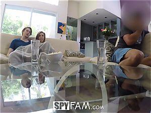 SpyFam Step sista Lena Paul porks step brutha