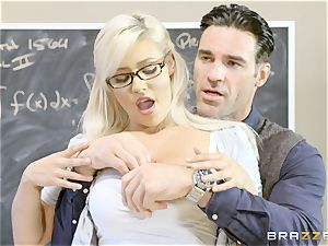 insane schoolgirl Kylie Page boinks her lecturer