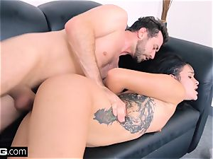 boink casting Eden Sinclair face fucking messy blow-job