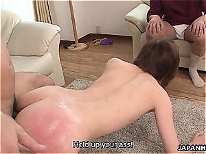 cheating asian wife porked in a raw session