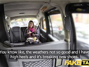 faux taxi european chick pounded with rock rigid salami facial cumshot