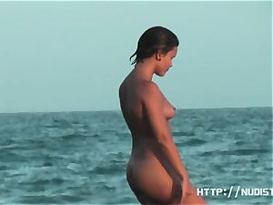 nude sun tanning ladies a beach spy webcam