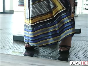 LoveHerFeet - Sneaky cheating foot intercourse With The Realtor