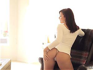 sultry honey Keisha Grey seduces her molten guy