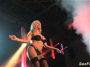 German stepmom nude on stage
