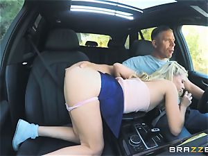 Riley star bashed outdoors in the boot
