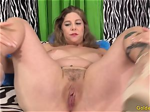 fabulous mature gal takes meatpipe