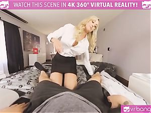 VRBangers.com-MILF is sticking a hitachi in her beaver